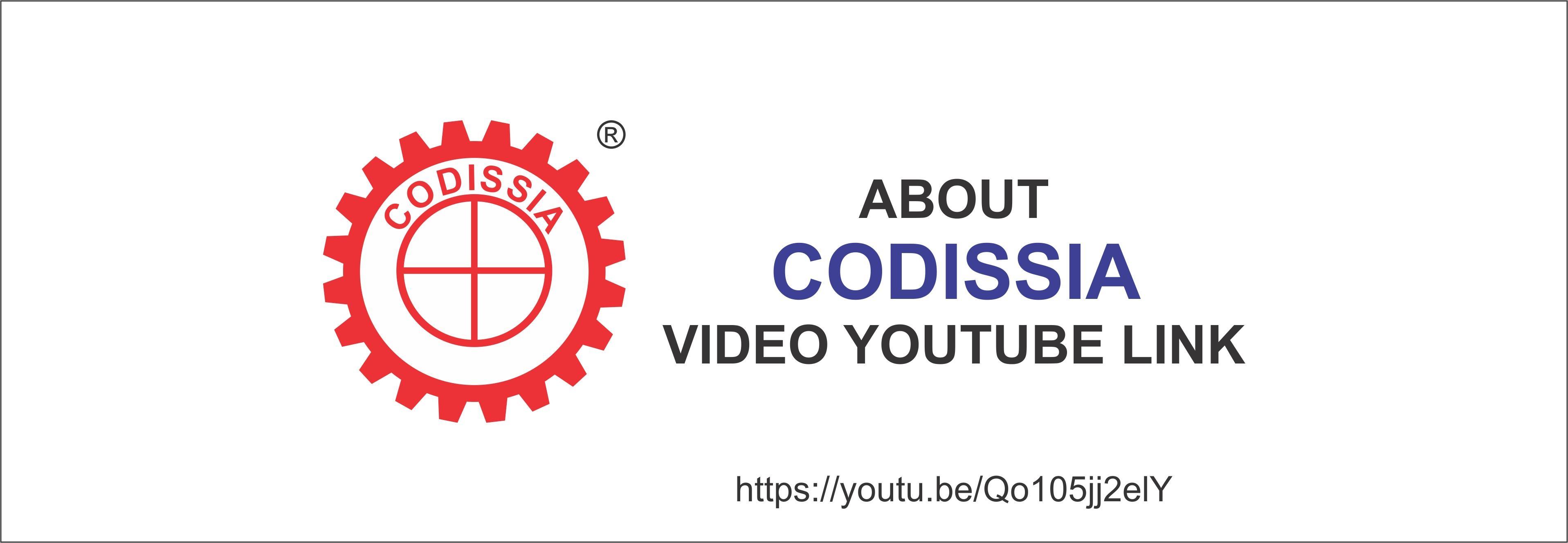about codissia video